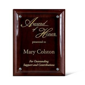 "Conforma Wood Plaque (8""x10""x1 1/2"")"