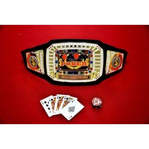 Express Vibraprint™ Bright Gold Championship Award Belt