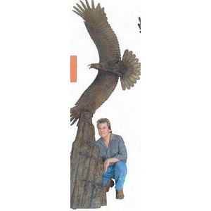 Over the Top Aquila Eagle Statue (9 1/2')