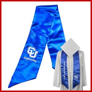 Graduation Embroidered Stole