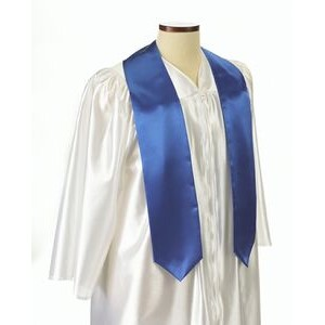 "Royal Blue Graduation Sash - 5""x60"""
