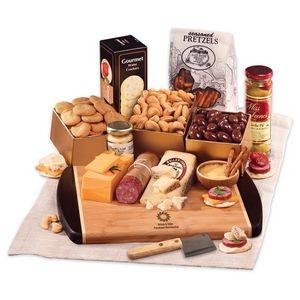 Java Bamboo Board with Gourmet Selections